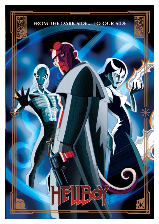 Cool Sci Fi Movie Cartoon Style Poster Art Geektyrant