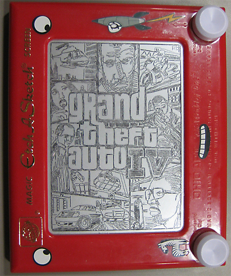 Check Out These Cool Etch A Sketch Drawings Geektyrant