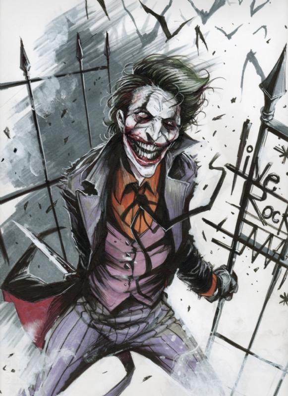 Geek Art The Joker And Penguin Geektyrant