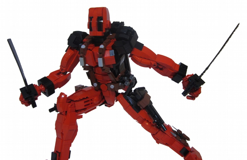 Lego Figures Toys : Deadpool lego action figure is ready for — geektyrant
