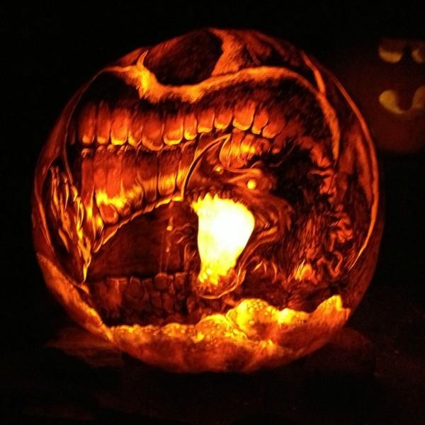 Badass geek culture jack o lantern carvings — geektyrant