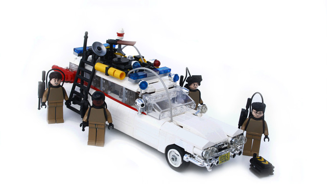 Back to the Future, Blade Runner & Ghostbusters LEGO Set Concepts ...