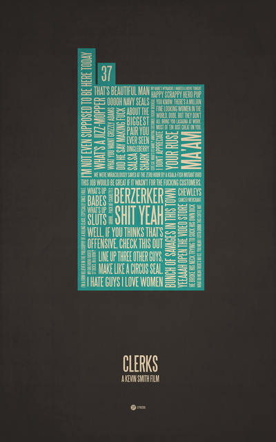 More Geeky Movie Quote Typographical Poster Art \u2014 GeekTyrant