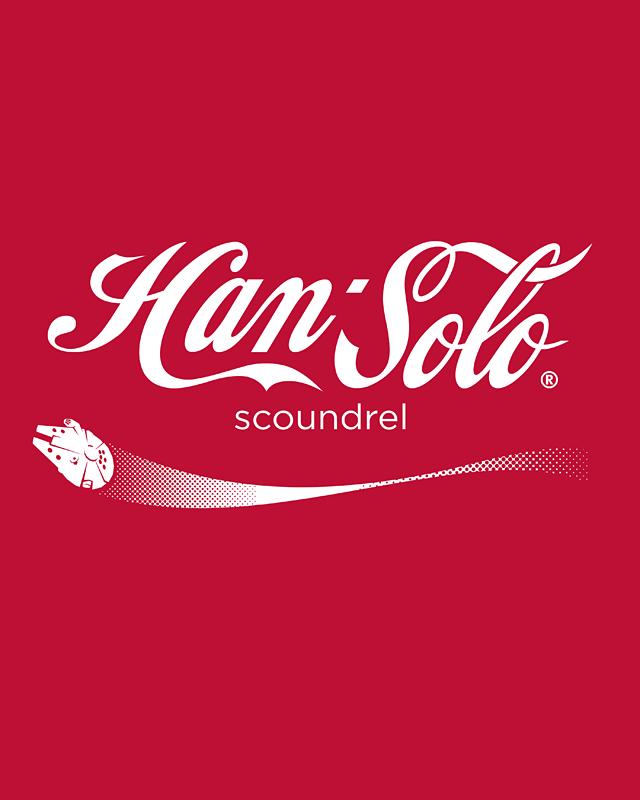 Brand Wars: Han Solo by Barn Bocock