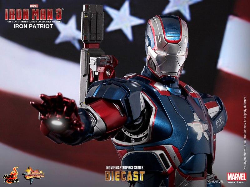 Iron Patriot Lego Iron Patriot in The Movie