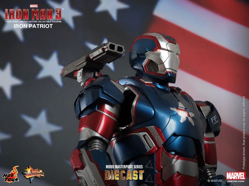 Iron Patriot Armor Iron Patriot in The Movie