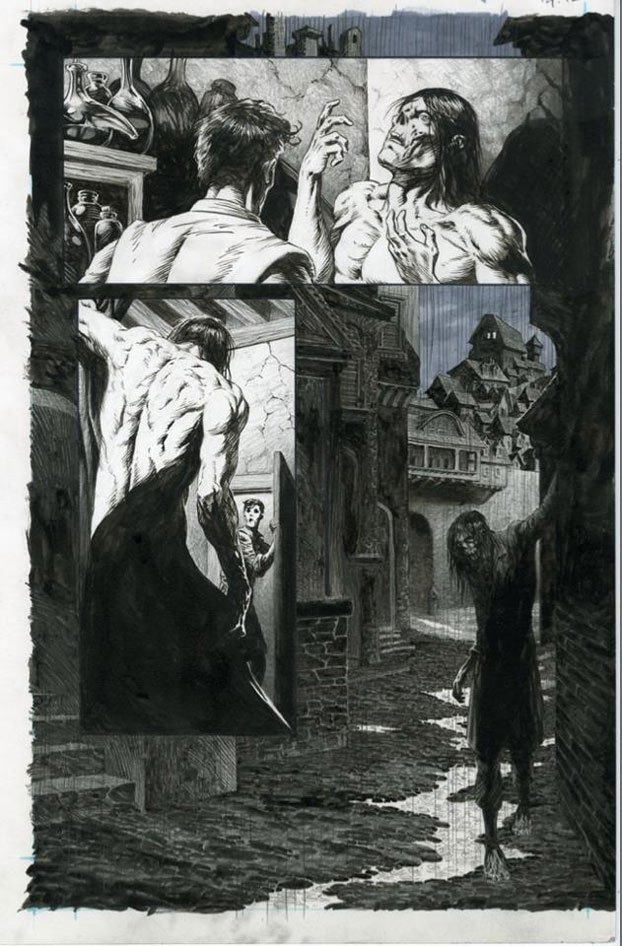 First Look: Artwork from FRANKENSTEIN, ALIVE, ALIVE by