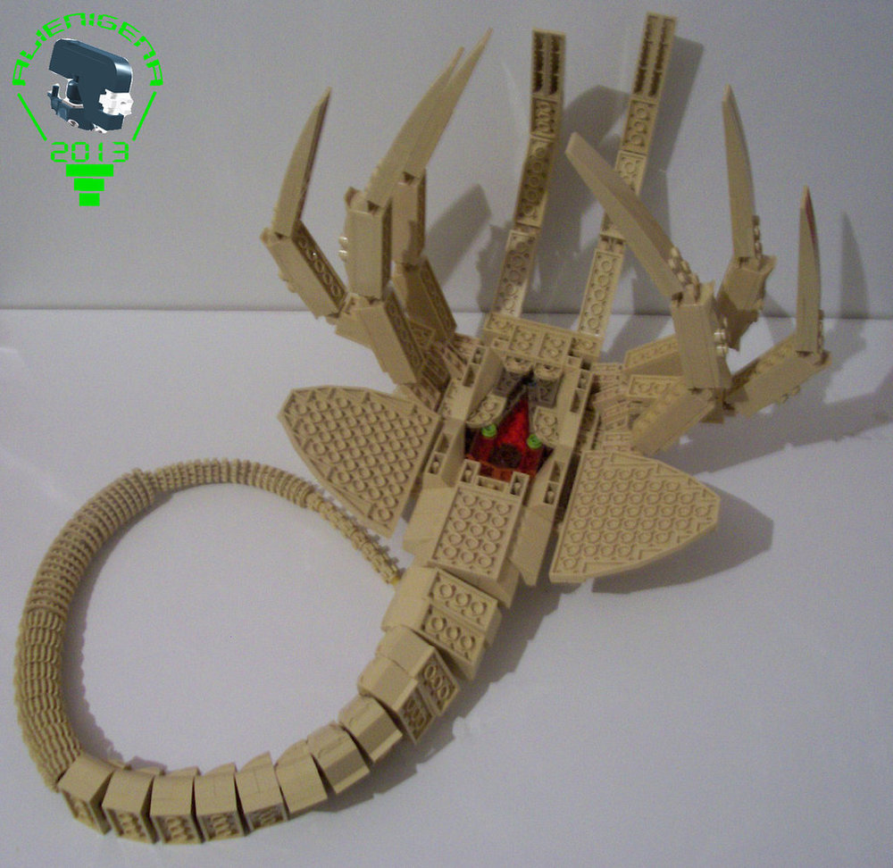 Cool life size lego alien facehugger geektyrant facehugger2byal13n163na d65xcfqg jeuxipadfo Images