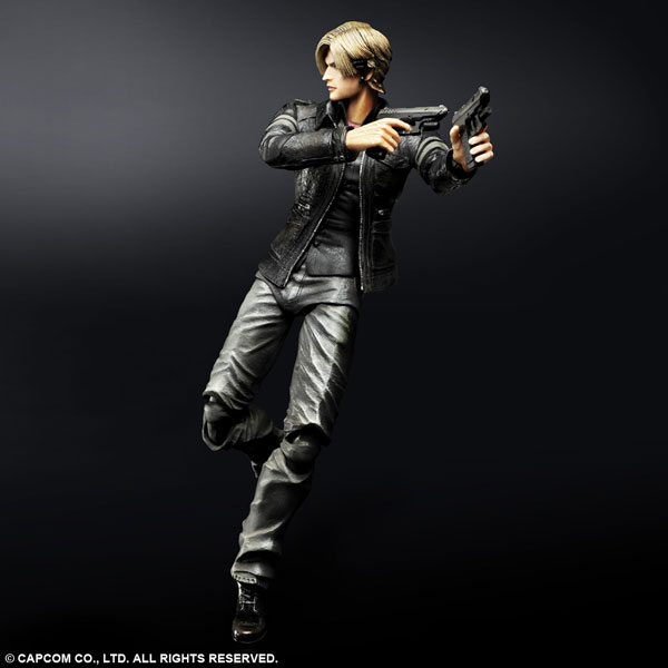 Resident Evil 6 Biohazard Toys : Resident evil play arts takes charge with new leon and