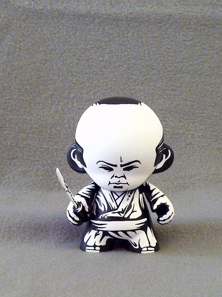 The Seven Samurai by Jon Paul Kaiser - Via Xombiedirge