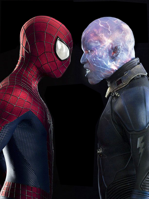 First Official Look at Electro in AMAZING SPIDER-MAN 2 ...  Jamie Foxx Electro Entertainment Weekly