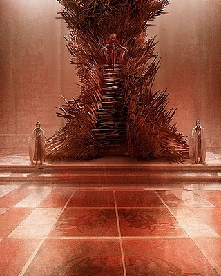 Spoilers all re readers 39 discussion agot 12 eddard ii for Iron throne painting