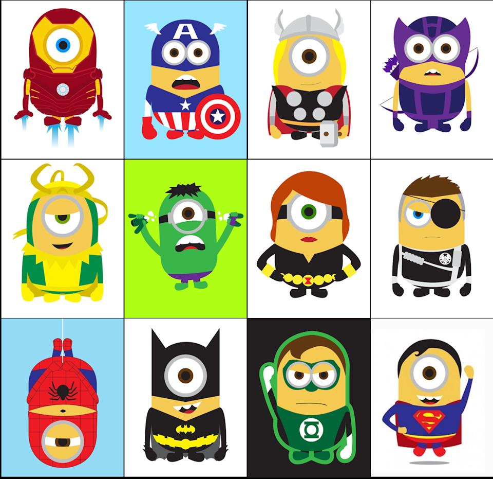Despicable Me Minions As Superheroes GeekTyrant