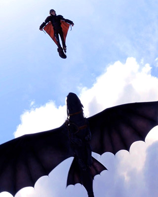 how to train your dragon 2 poster new