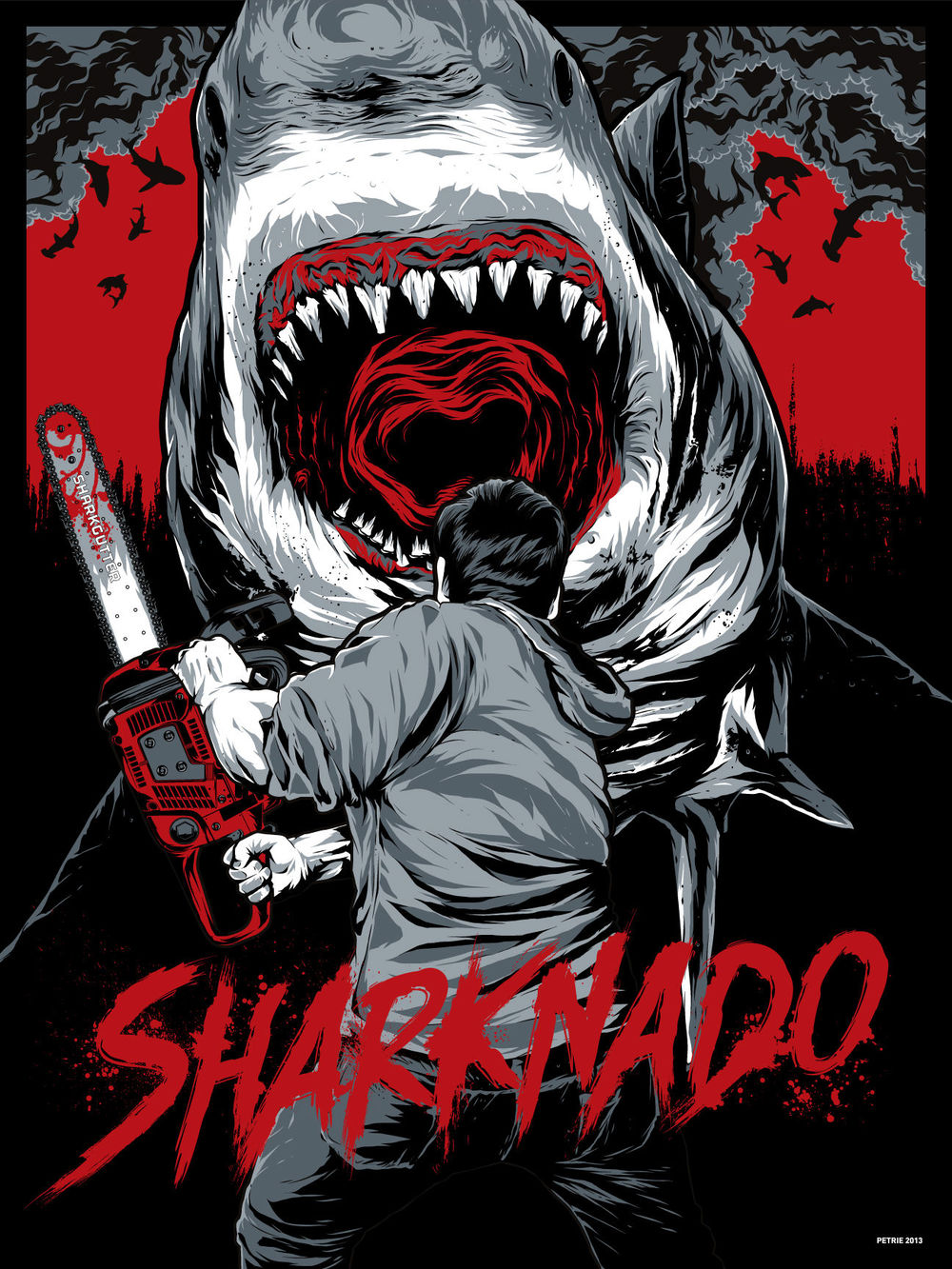 SHARKNADO Mondo Posters and LEGO Recreation — GeekTyrant