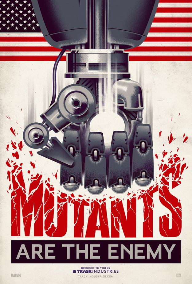 alternate posters x-men
