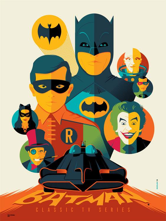 Classic Batman tv Logo Classic Batman tv Series