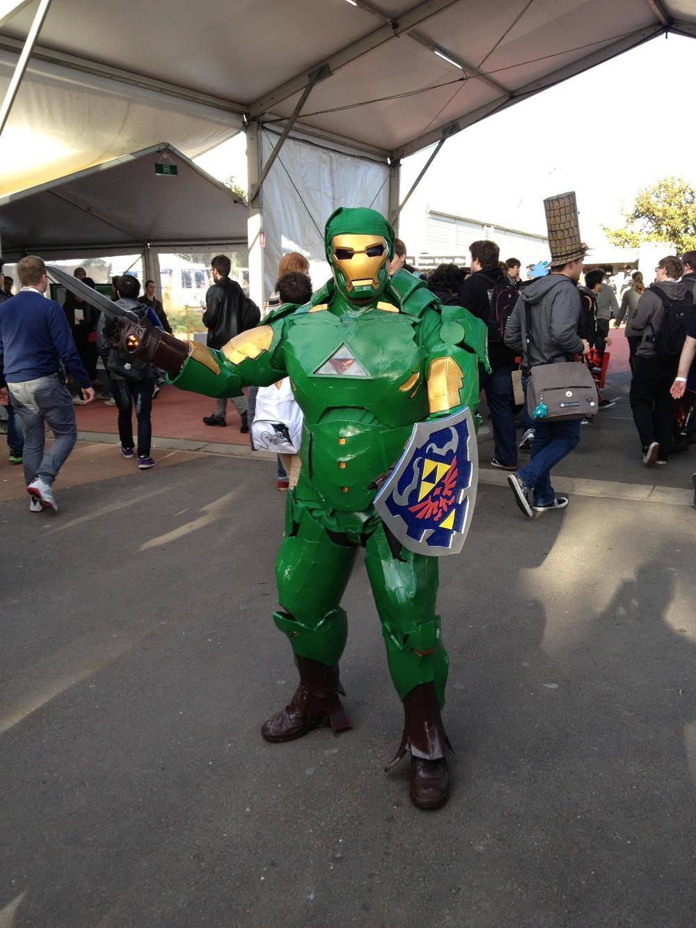 Iron Man And Link Cosplay Mashup Geektyrant