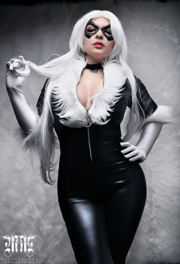 Mariedoll is Black Cat  |  Photo by Michael Mac