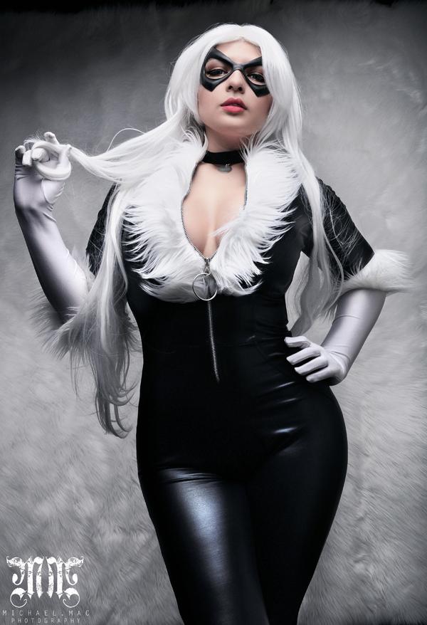 Mariedoll is Black Cat | Photo byMichael Mac