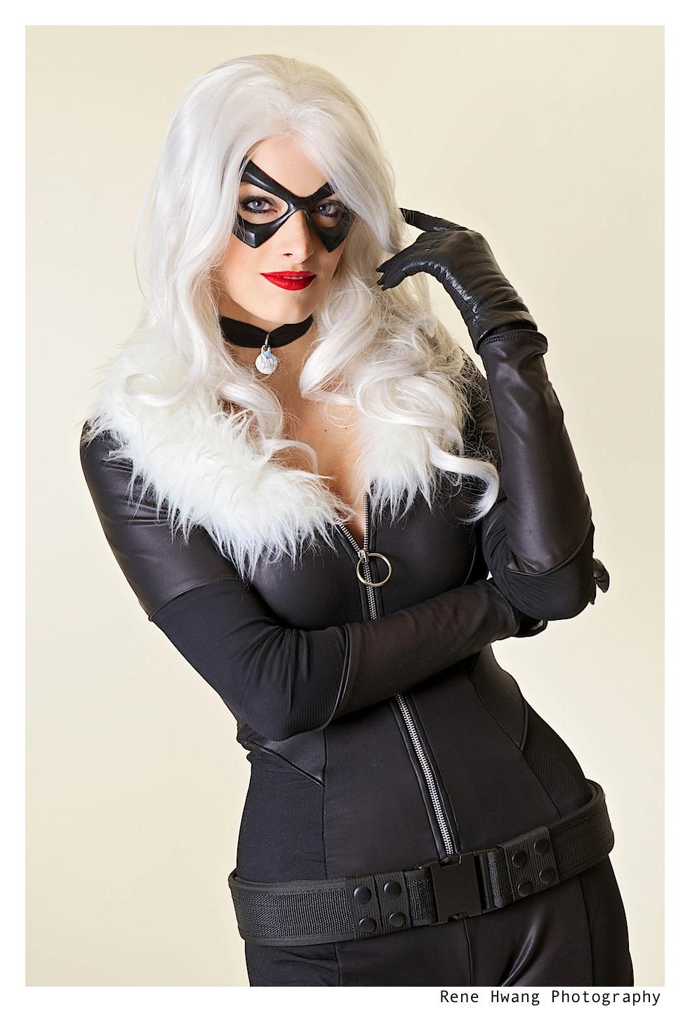 Katie George is Black Cat | Photo by Rene Hwang
