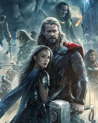 THOR: THE DARK WORLD - Character Posters for Lady Sif and ...