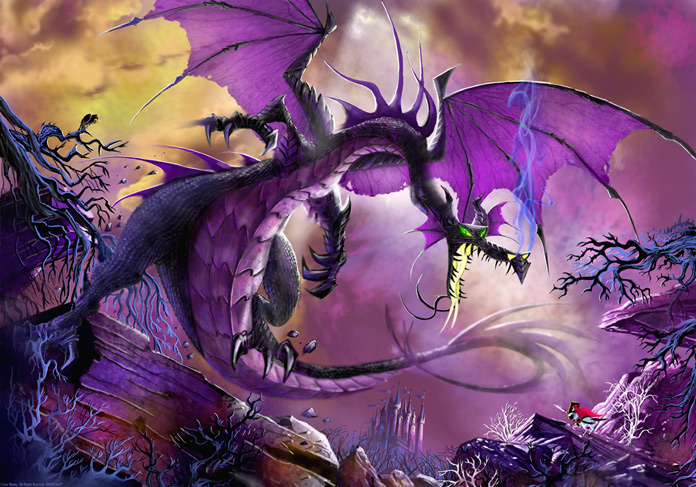 Maleficent Dragon Tattoo Evil dragon maleficent. Once Upon A Time Prince Philip
