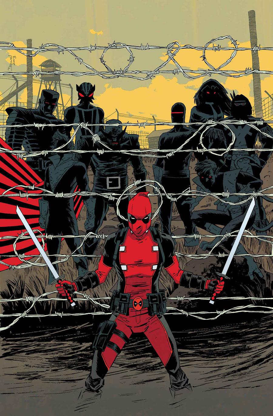 Deadpool by  Declan Shalvey  | Via XombieDirge