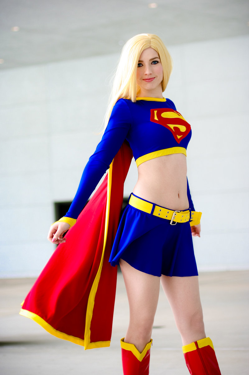 Amanda Shafer is Supergirl  |  Photo by Gamefan23