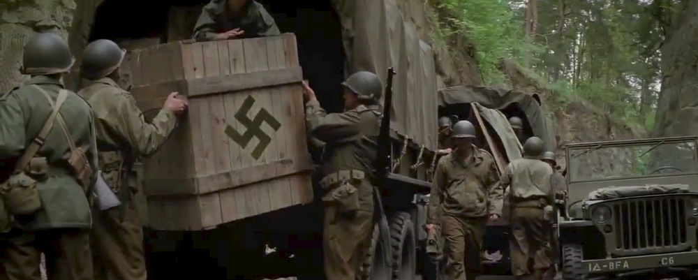trailer for george clooneys wwii film the monuments men