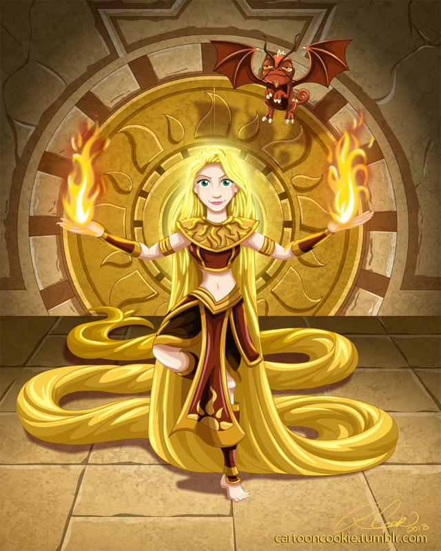 Princesses as avatar the last airbender characters geektyrant