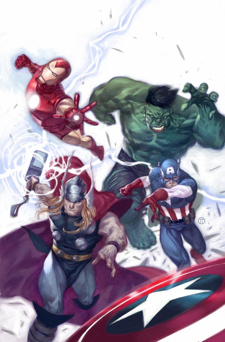 Avengers by  Juliantotinotedesco