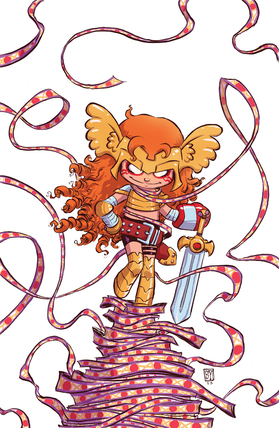 Little Angela by  Skottie Young