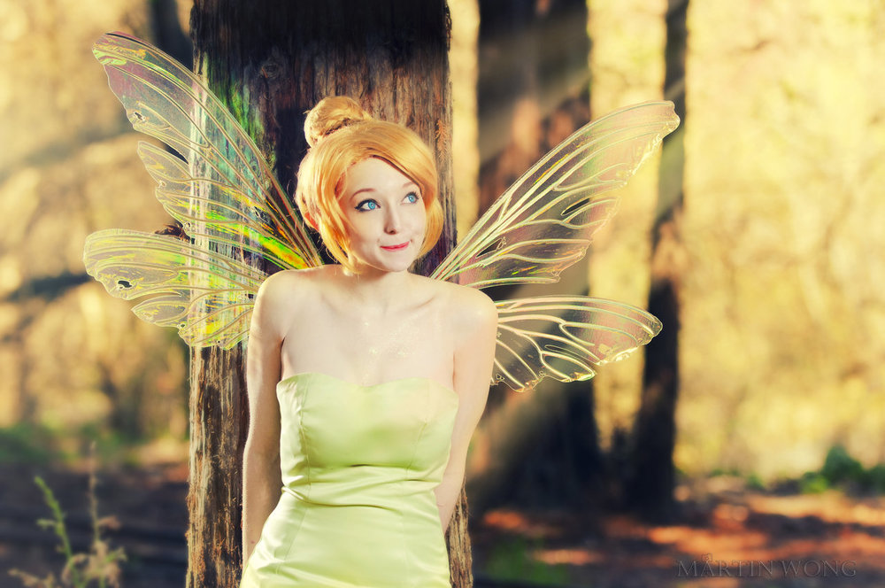 SugarBunnyCosplay  is Tinkerbell | Photo by  Martin Wong