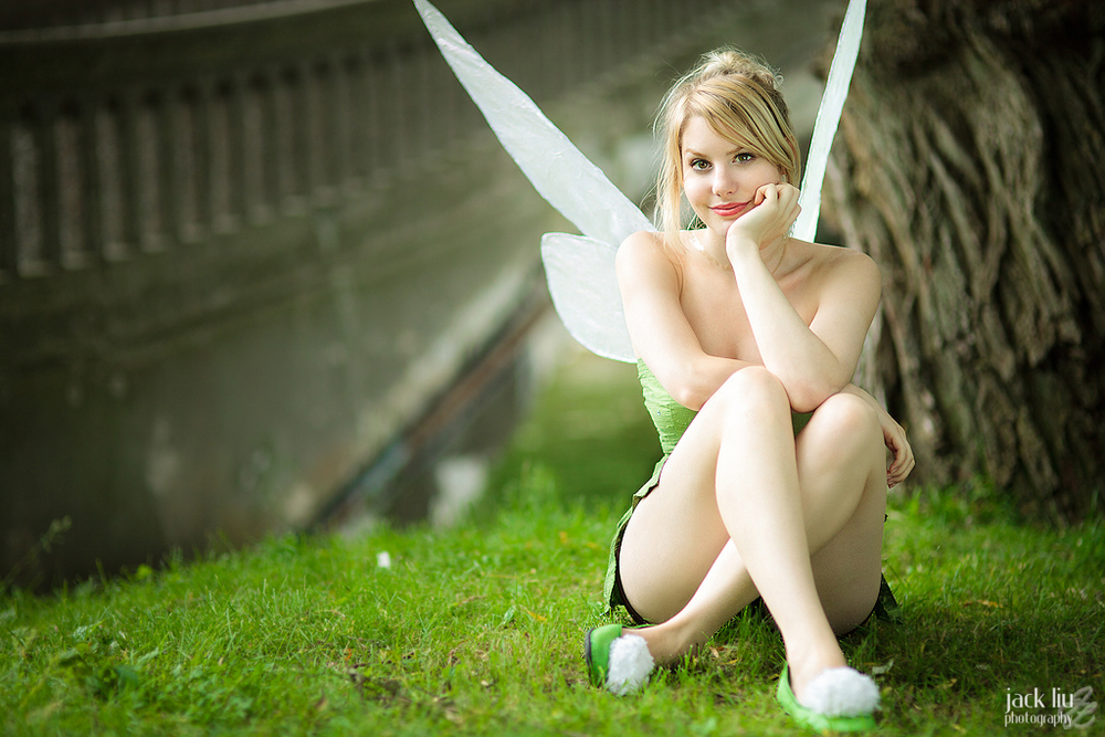 Laurentea is Tinkerbell | Photo by Alucardleashed