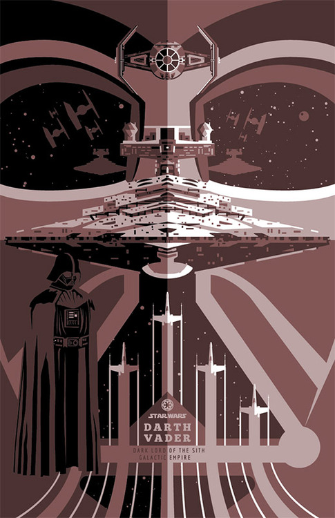 Cool STAR WARS Poster Designs By Ben Smith