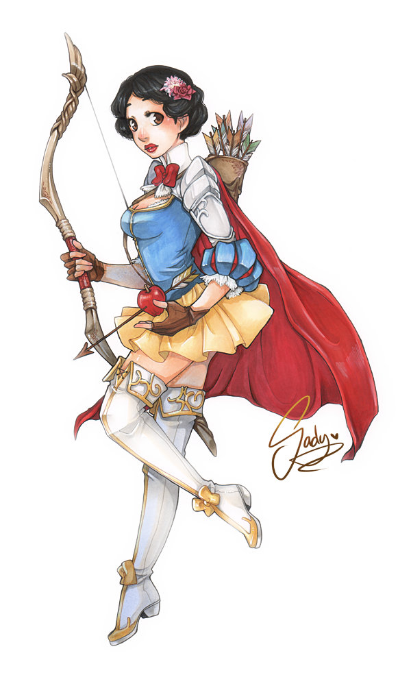 Snow White Warrior Princess.png