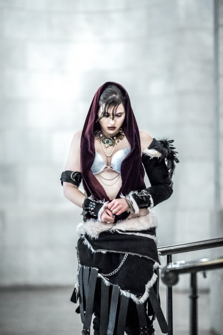 Holland Tayloe Gedney is Morrigan | Photo by: Mike Caffrey
