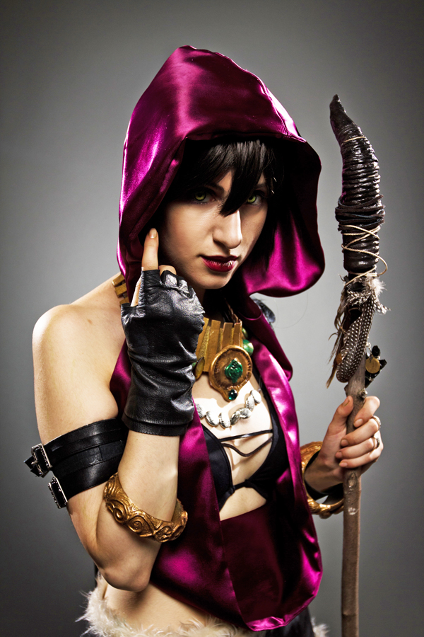 Empress Arcana is Morrigan | Photo by: Convoke