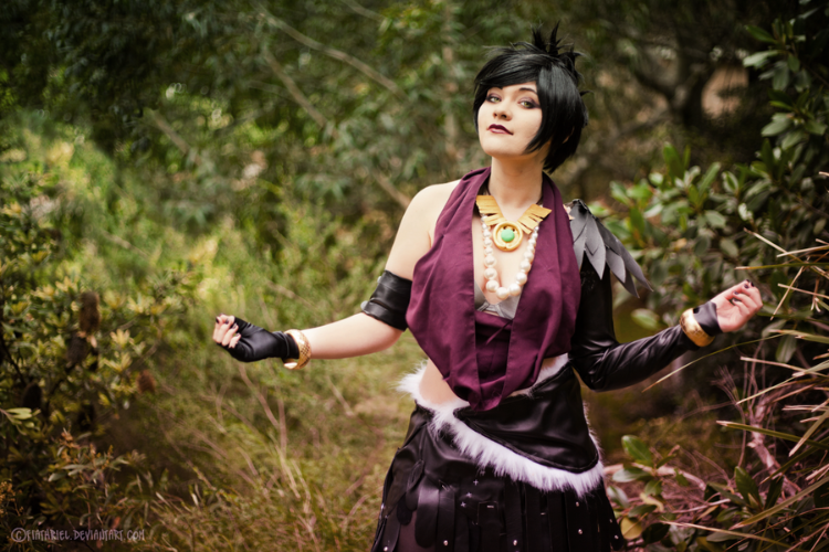 Cattypatra is Morrigan | Photo by: Fiathriel