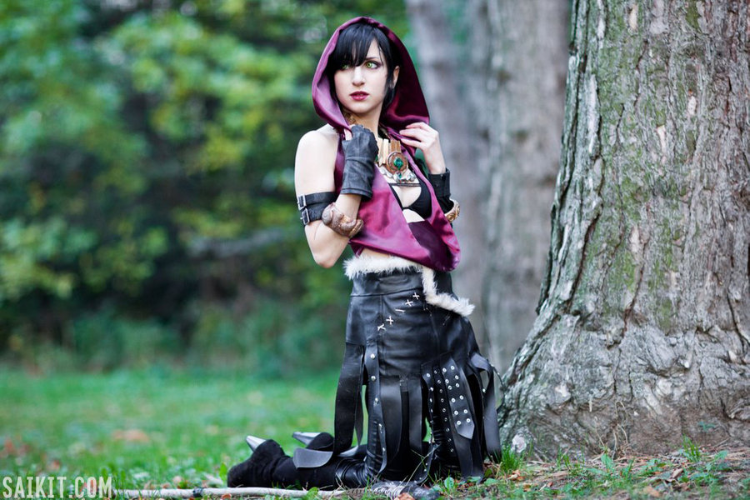 Empress Arcana is Morrigan | Photo by: Sai Kit Chu