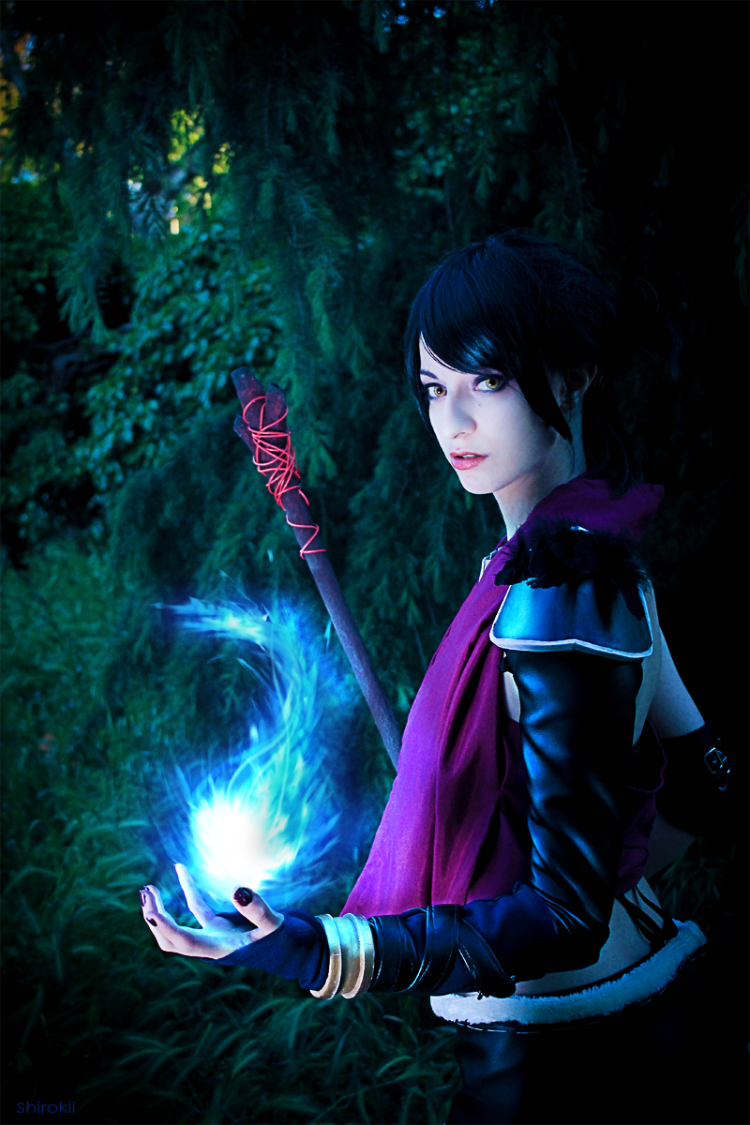 Shirokii is Morrigan | Photo by: Yuiie