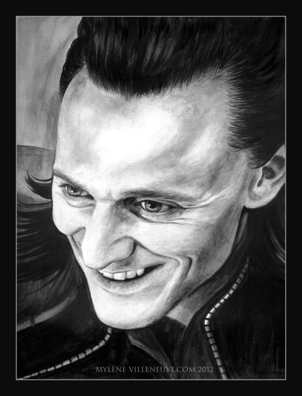 Loki God Of Mischief by PrincessTigerLili