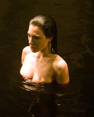 Artistic female nude ass