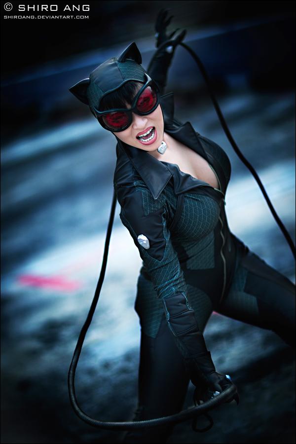 arkham city cosplay Catwoman