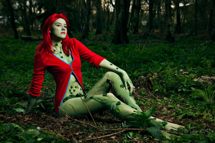 Poison Ivy Costume Arkham City