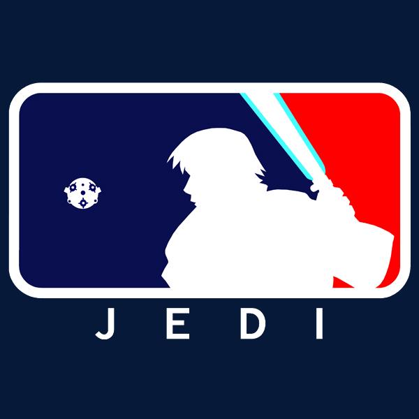 major league jedi tshirt design � geektyrant