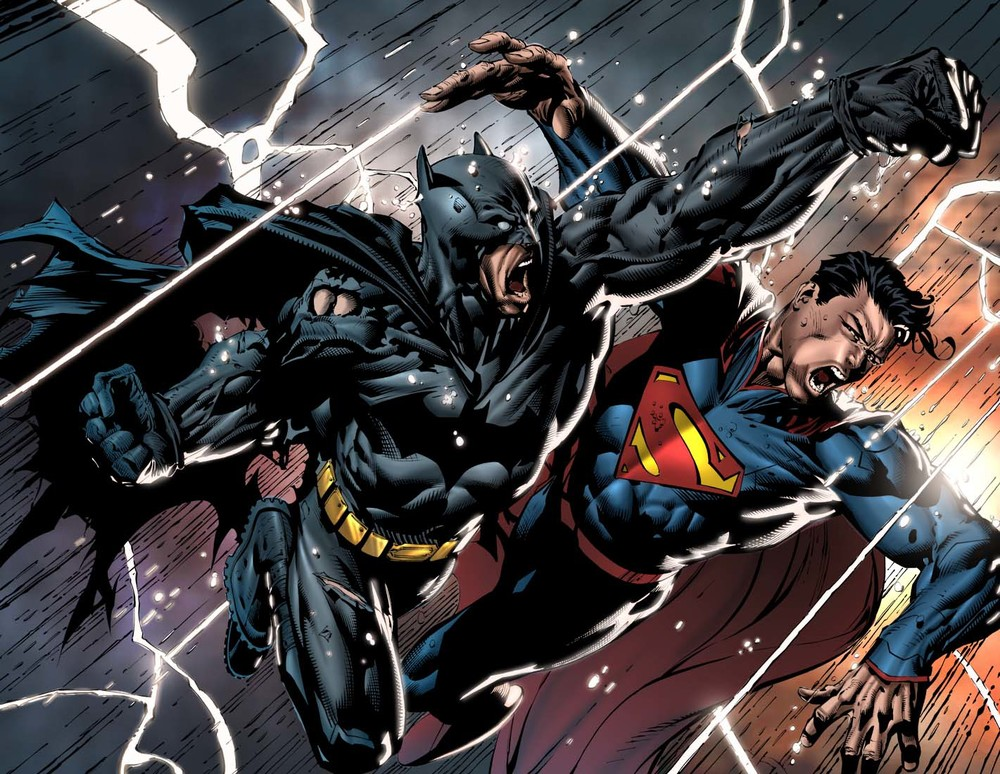 Read batman vs superman script from 2002 geektyrant - Super batman movie ...