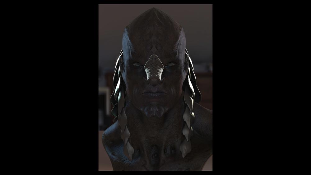 Alternate klingon designs for star trek into darkness for Wohnung star trek design