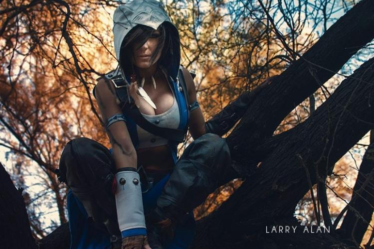 Jessica Nigri  is Connor | Photo by  Larry Allen